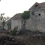An exceptionally bad condition of the monastery complex