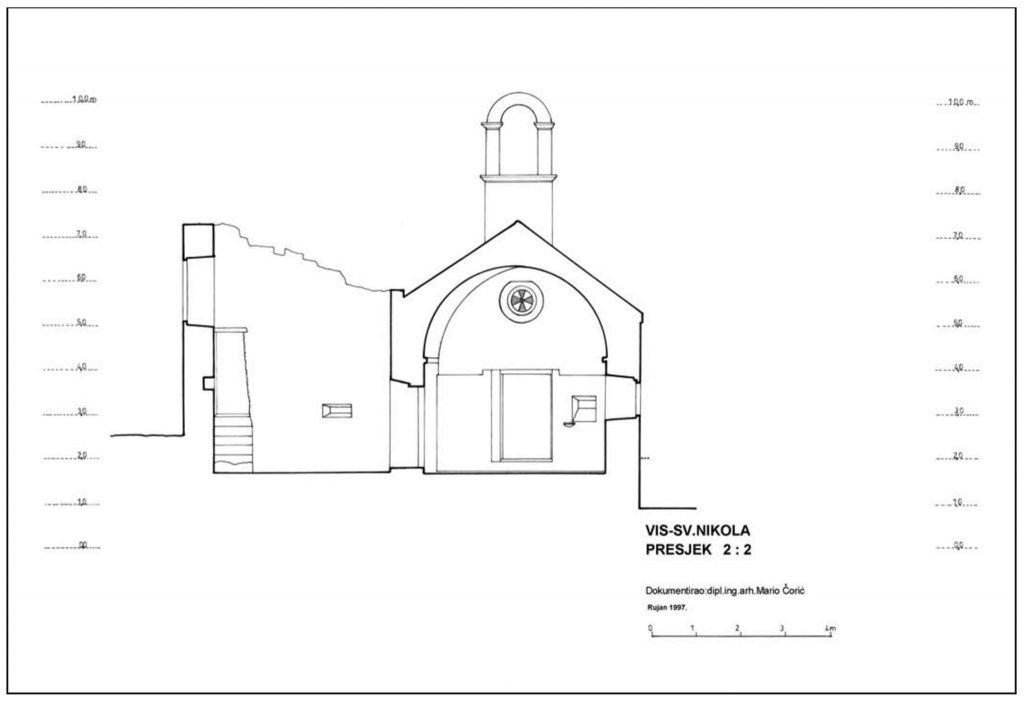Istraživanja srednjovjekovnih lokaliteta kod crkve sv. Nikole u Dolu i sv. Marije u Poselju (Velom Selu) na otoku Visu
